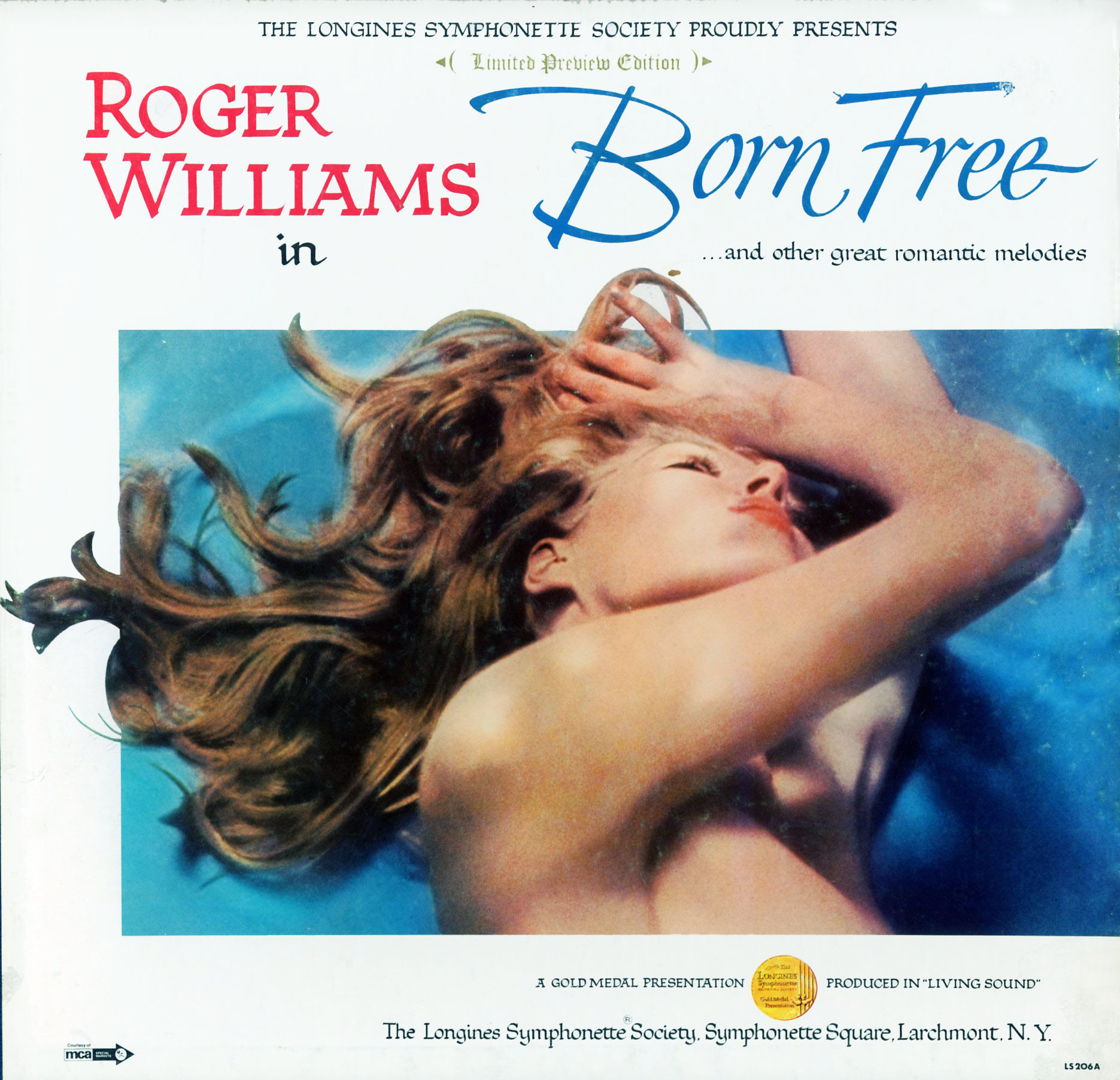 LS206B - Born Free - Roger Williams on CD