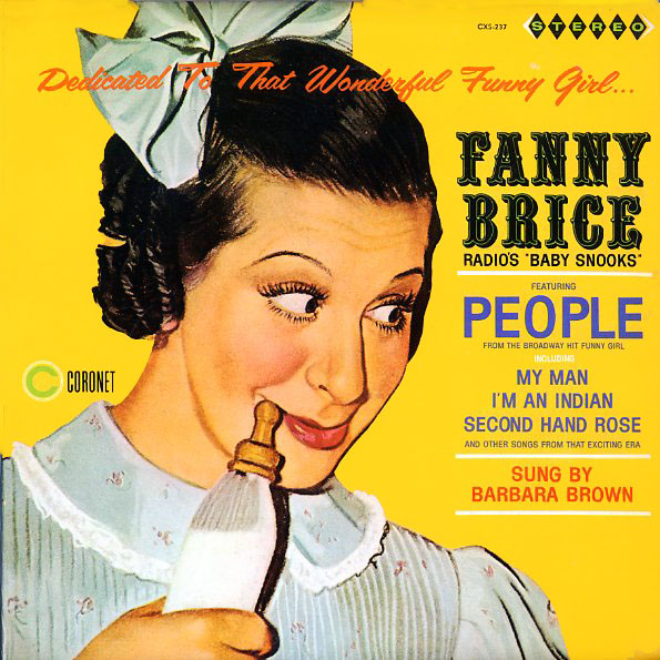 CSX237 - Brown, Barbara - Fanny Brice - on CD