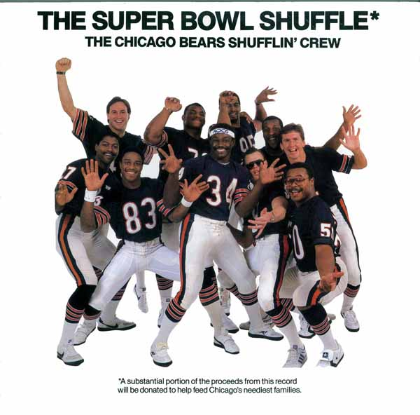70060 - Chicago Bears Shufflin' Crew - The Super Bowl Shuffle