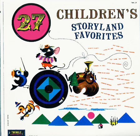 TW29 - 27 Children's Storyland Favorites on CD