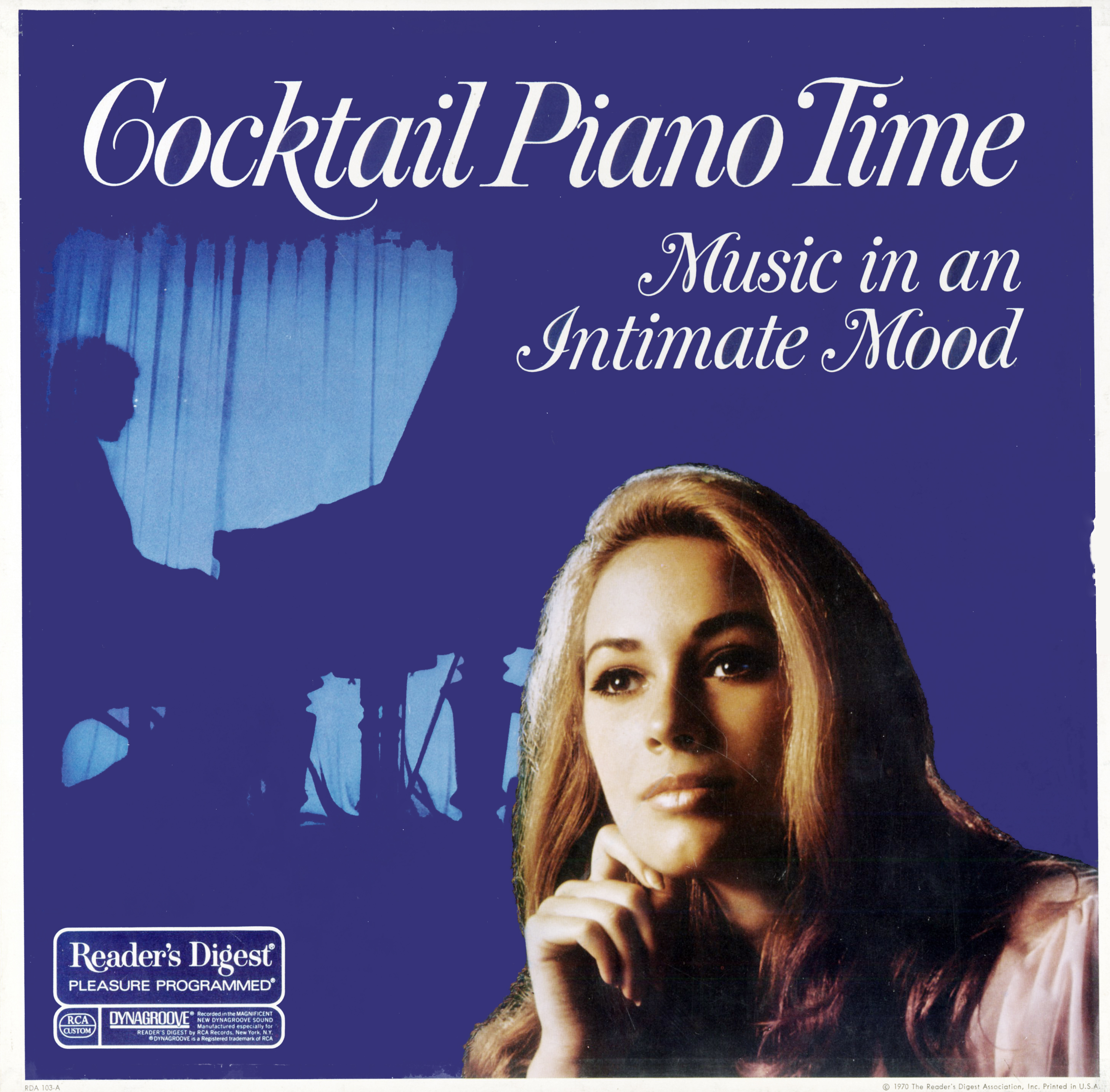 RDA103 - Cocktail Piano Time - Music in an Intimate Mood