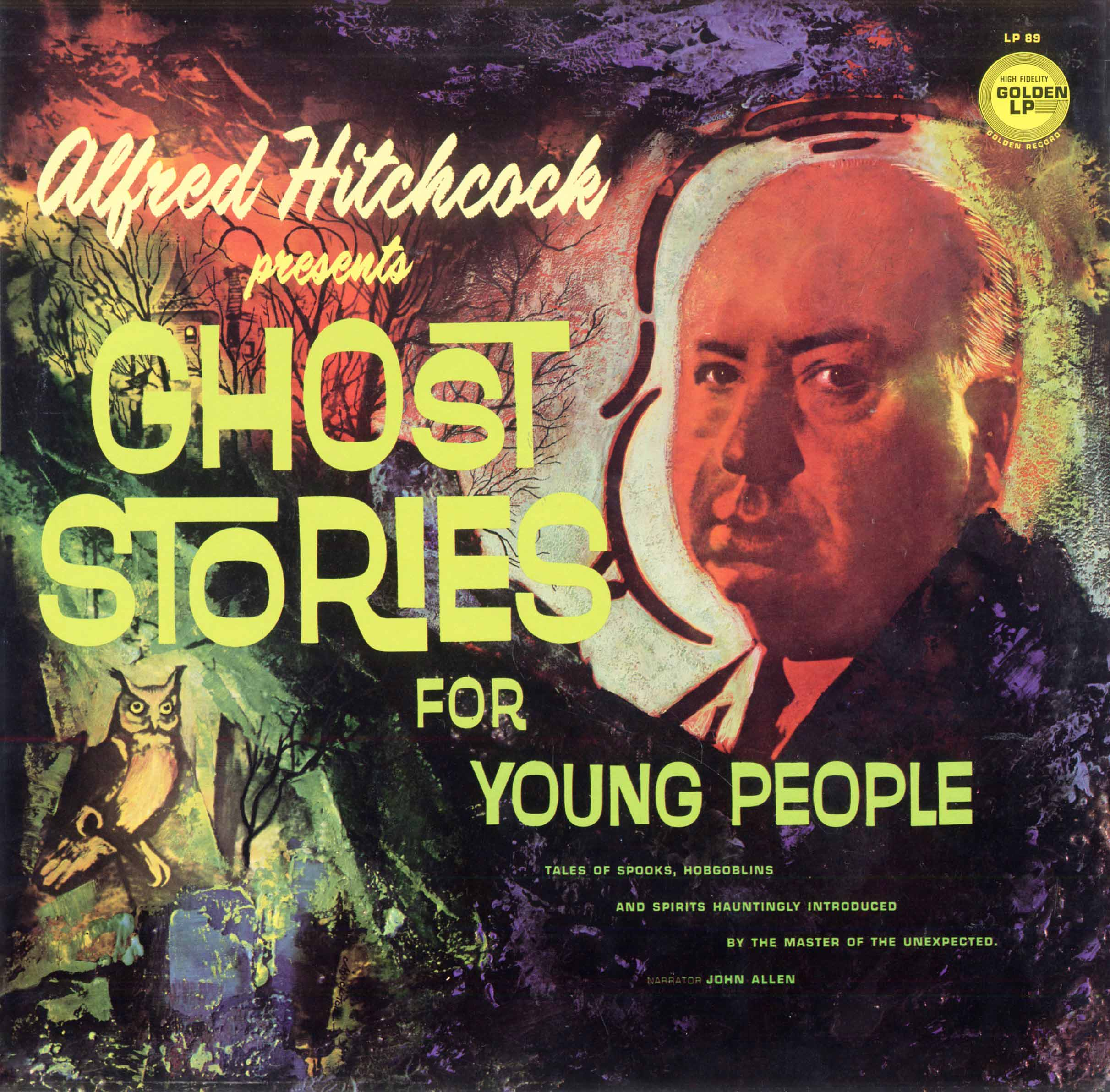 LP89 - Ghost Stories for Young People - Alfred Hitchcock on CD