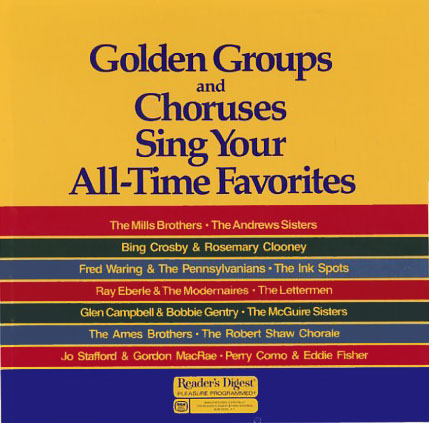 RBA080 - Golden Groups and Choruses Sing Your All-Time Favorites on CD