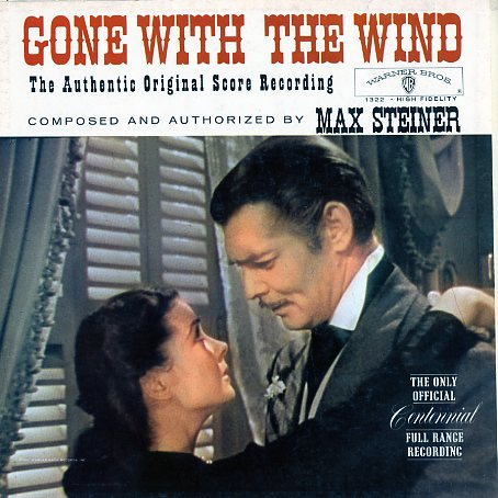 W1322 - Gone With The Wind - Authentic Original Score Recording on CD