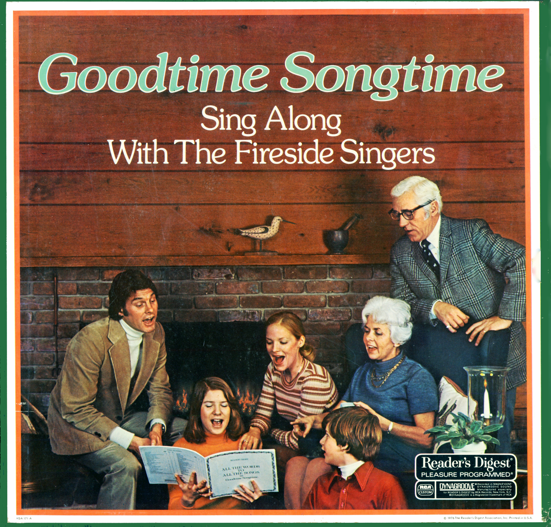 RDA171 - Goodtime Songtime - Fireside Singers - Readers Digest on CD