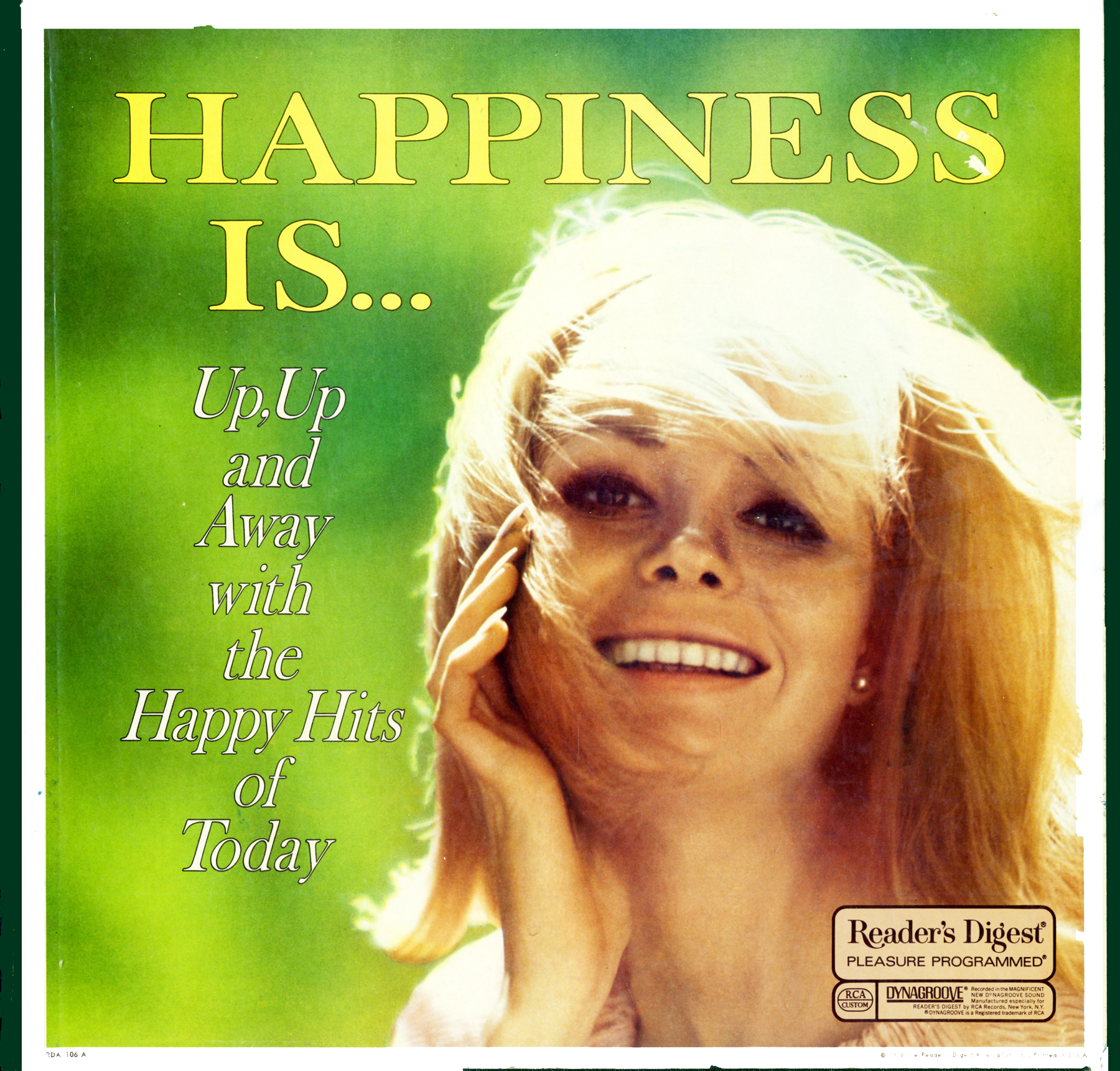 RDA106 - Happiness Is - Up, Up and Away with the Happy Hits of Today on CD
