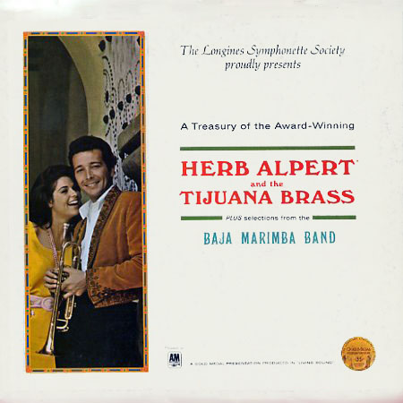 LWS500 - Treasury of Herb Alpert and the Tijuana Brass on CD