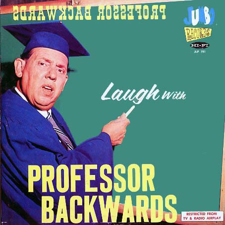 JLP201 - Professor Backwards - Laugh With on CD