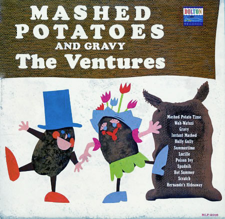 BLP2016 - Mashed Potatoes and Gravy - The Ventures on CD