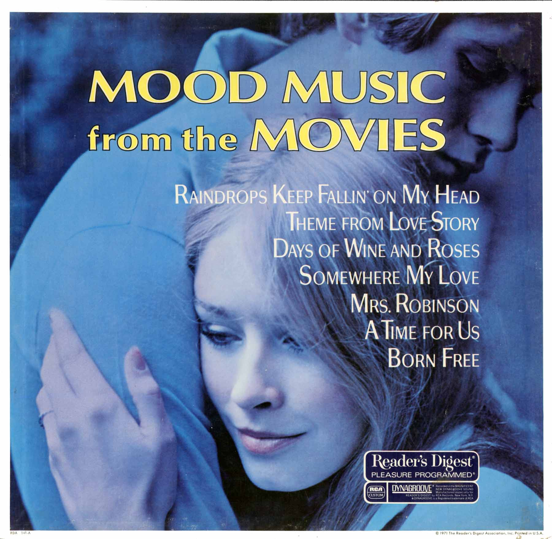 RDA141 - Mood Music From the Movies on CD