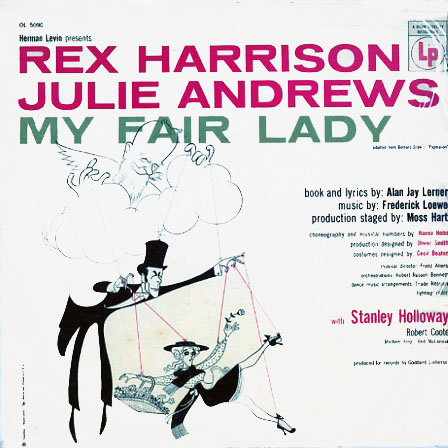 OL5090 - My Fair Lady - Rex Harrision, Julie Andrews on CD