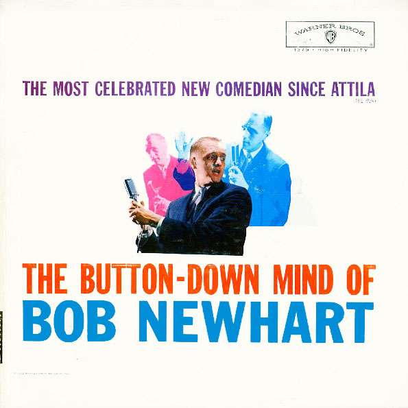 W1379 - Newhart, Bob - The Button Down Mind of - on CD