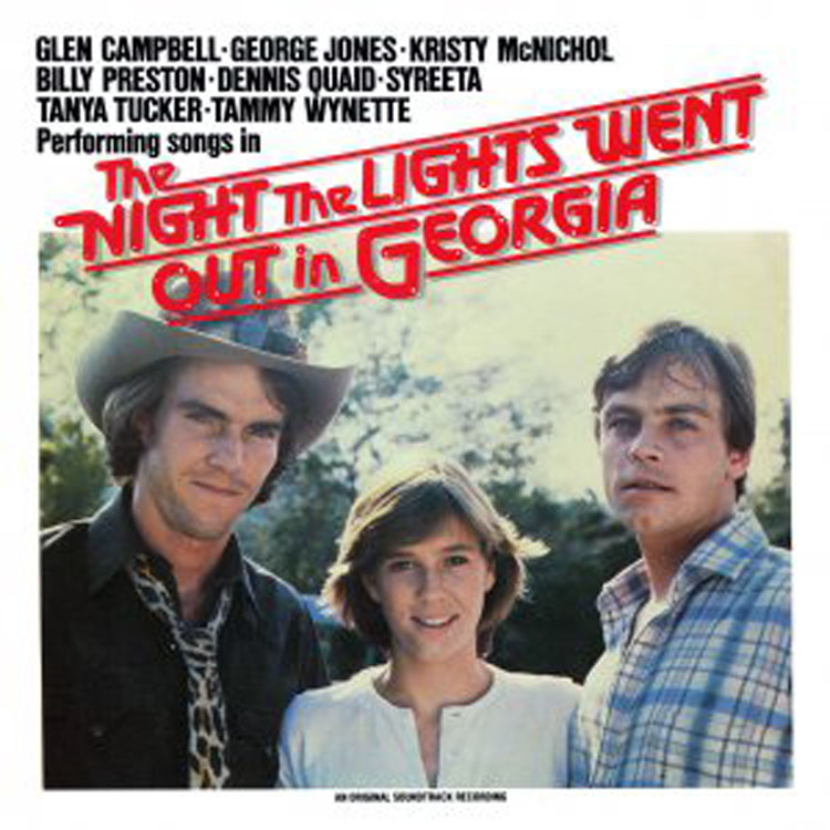 WTG16051 - Night The Lights Went Out In Georgia on CD