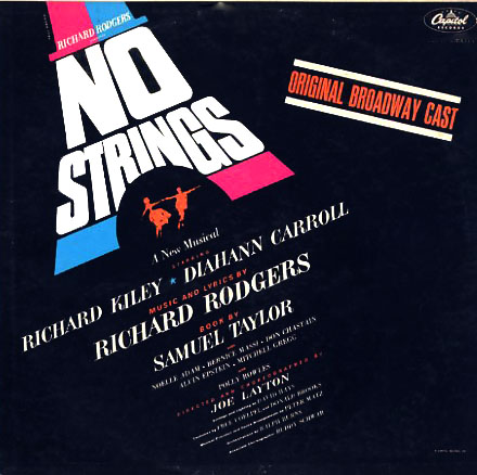 O1695 - No Strings - Richard Rodgers on CD
