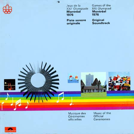2424124 - Games of the XXI Olympiad - Jeux de la XXI Olympiade - Montreal 1976 on CD