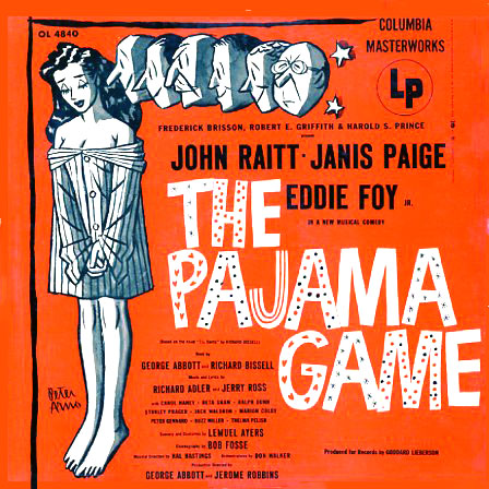 OL4840 - Pajama Game on CD