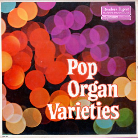 RDA46A - Pop Organ Varieties on CD