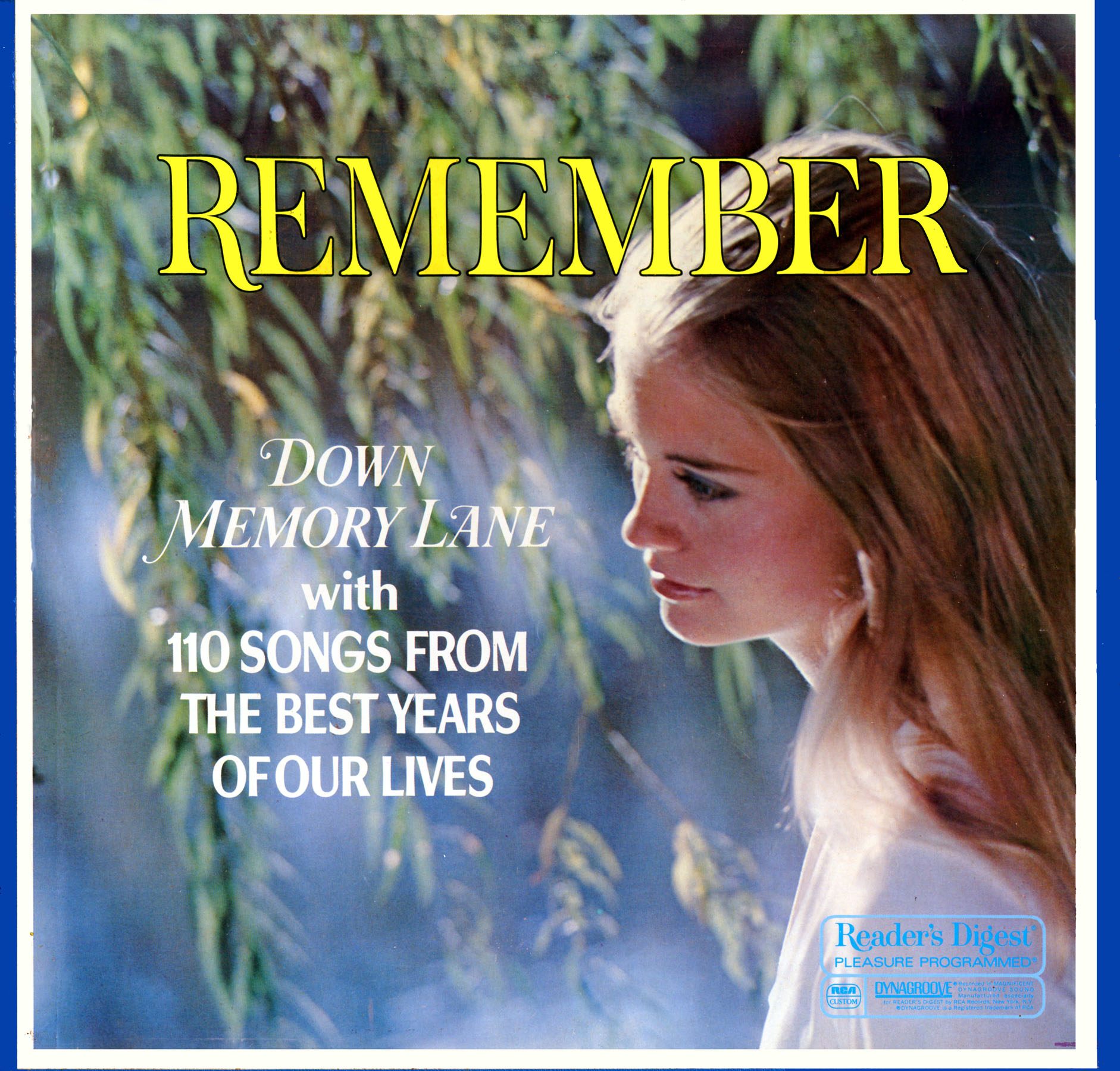 RDA117 - Remember- Down Memory Lane on CD