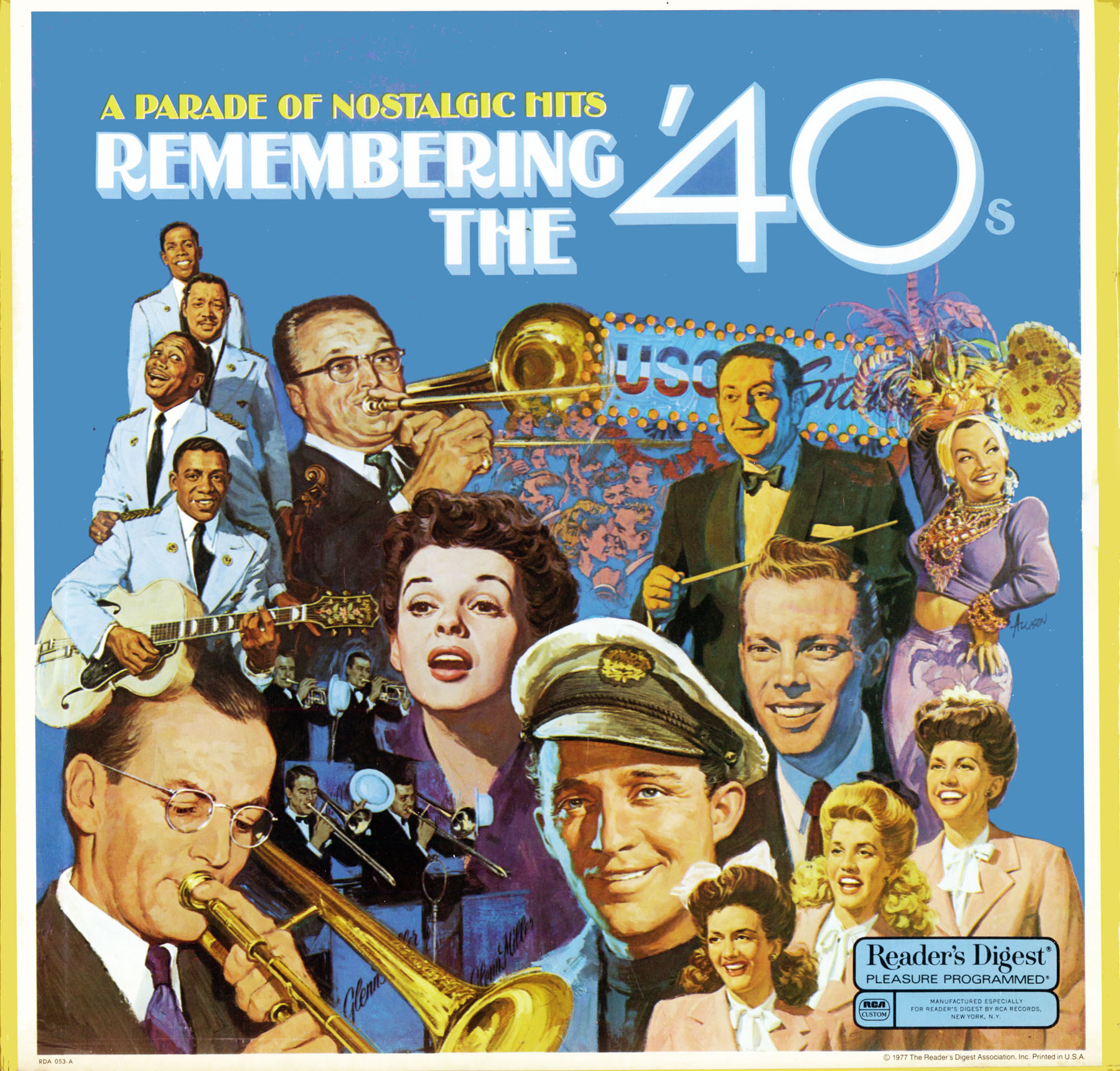 RDA053 - Remembering the '40s on CD