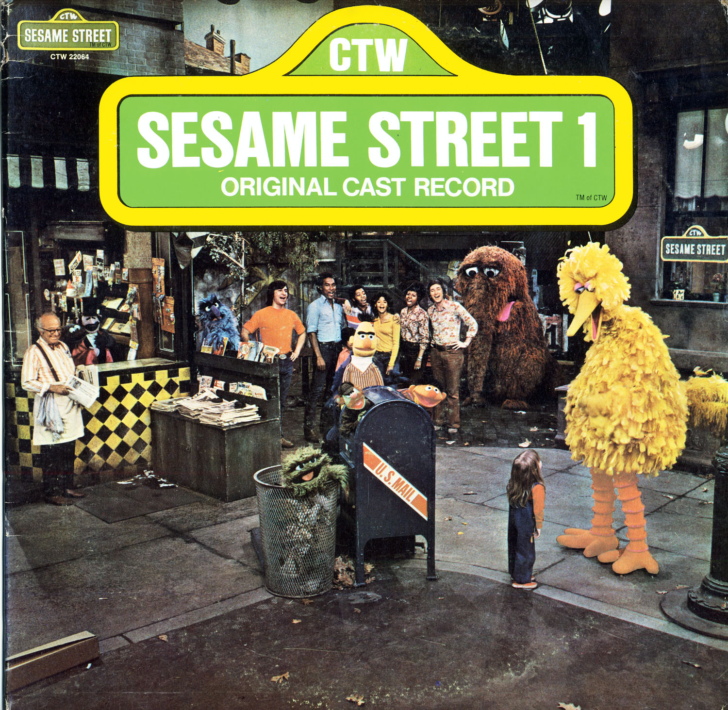 CTW22064 - Sesame Street 1 on CD