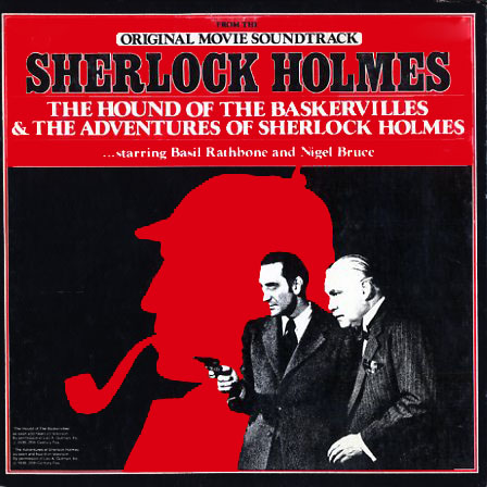 M55358 - Sherlock Holmes - The Hound of the Baskervilles, The Adventures of Sherlock Holmes - Basil Rathbone
