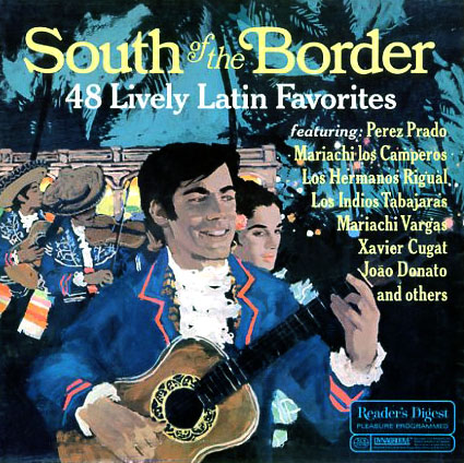 RDA72 - South of the Border on CD