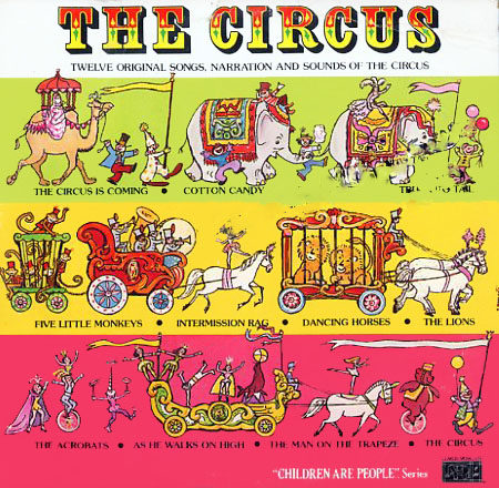 CL1232 - Circus - Children Are People Series on CD