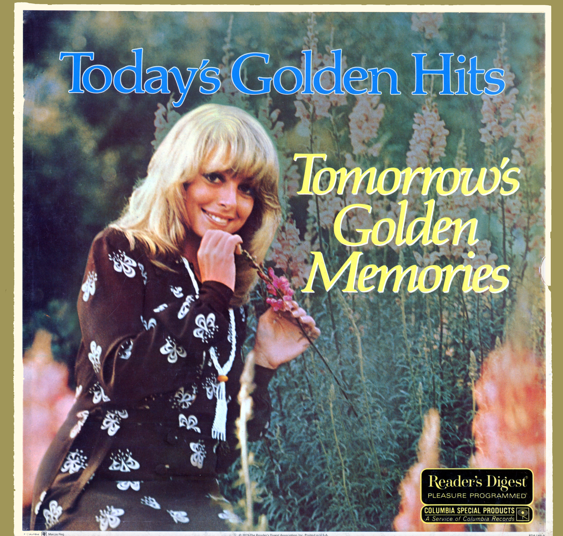 RDA148 - Today's Golden Hits - Tomorrows Golden Memories on CD