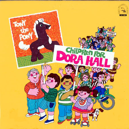 PL1100 - Tony The Pony-Children For Dora Hall on CD