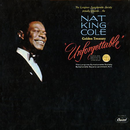 LS117 - Nat King Cole - Golden Treasury - Unforgettable on CD