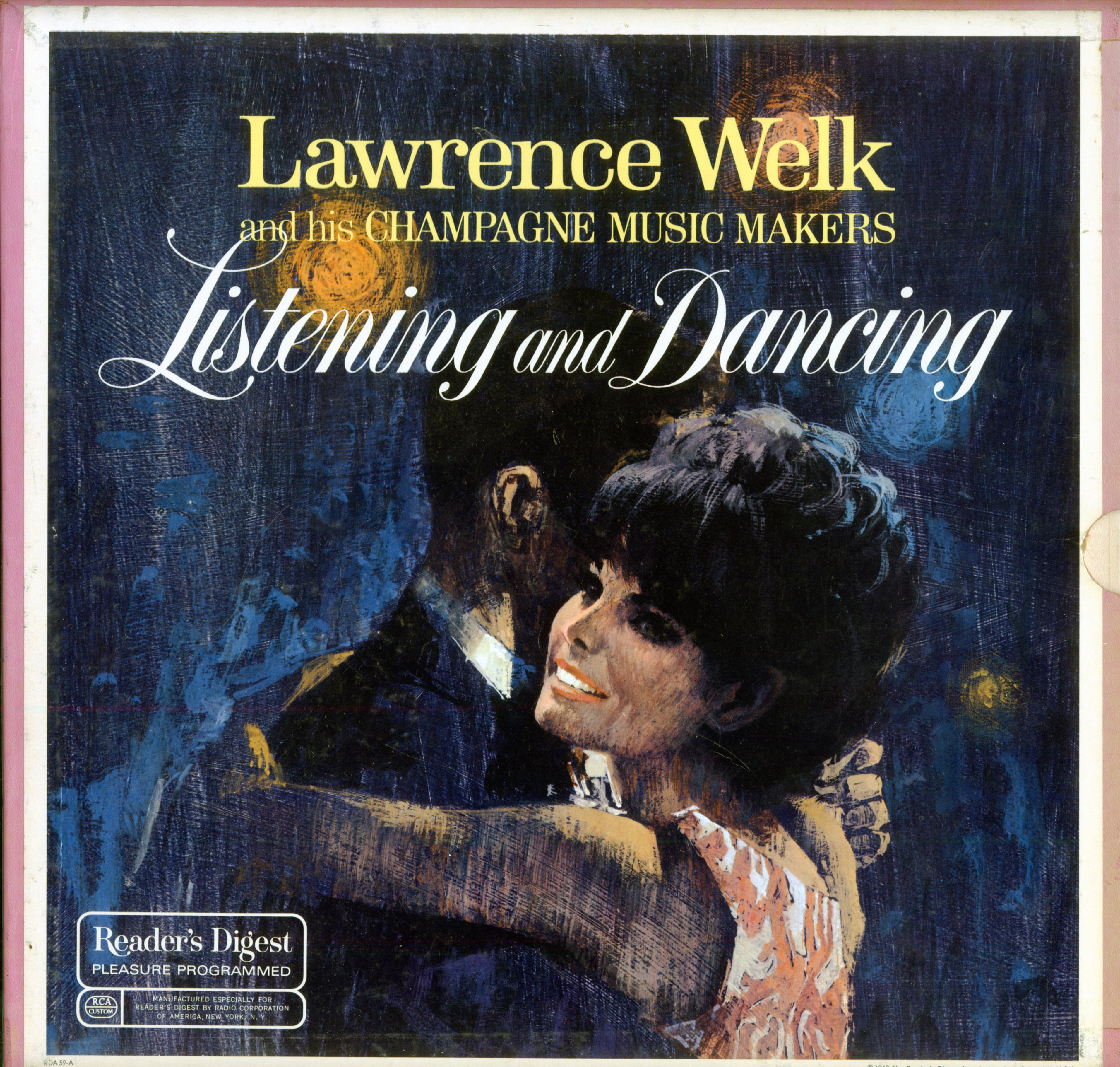RDA59 - Welk, Lawrence - Listening and Dancing on CD