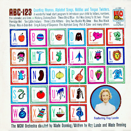 CH1012 - ABC 123 - Counting Rhymes, Alphabet Songs, Riddles, and Tongue Twisters on CD