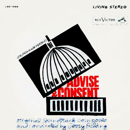 LSO1068 - Advise and Consent Motion Picture Soundtrack on CD