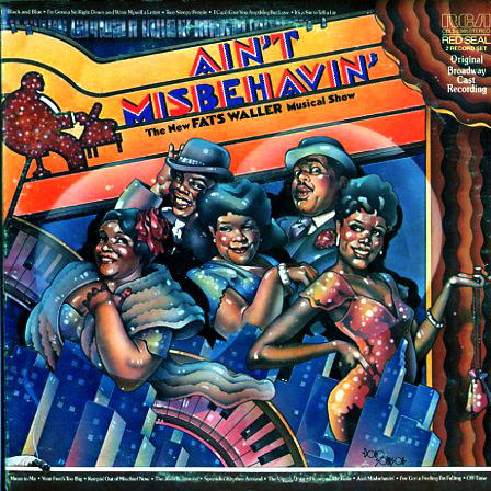 CBL22965 - Ain't Misbehavin Original Broadway Cast on CD