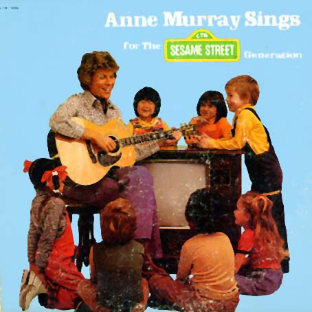 CTW79006 - Anne Murray Sings for the Sesame Street Generation on CD