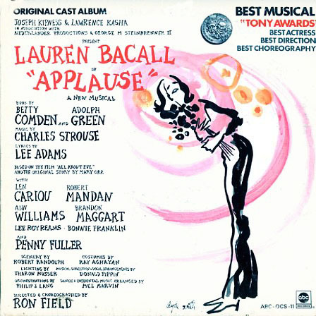 ABCOCS11 - Applause - Original Cast Recording on CD