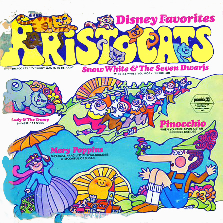 SPC3264 - Aristocats and Disney Favorites Pickwick on CD