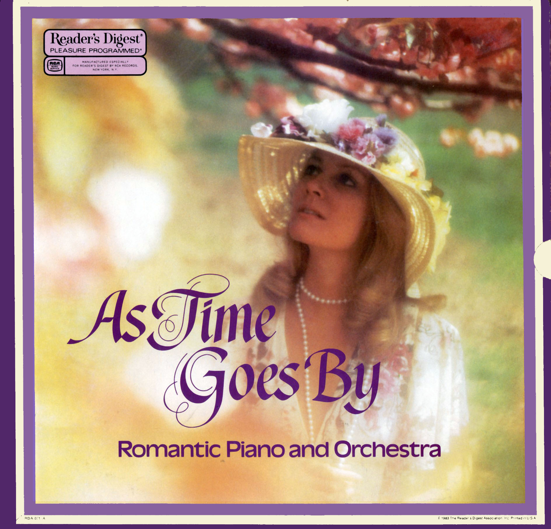 RDA071 - As Time Goes By on CD