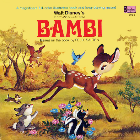 3903 - Bambi on CD