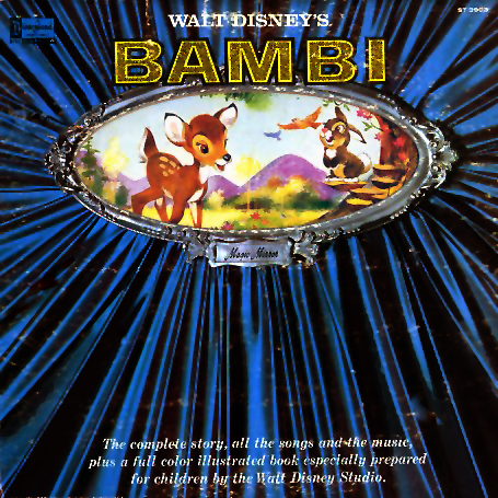 ST3903 - Bambi Soundtrack Complete Story, Songs, and Music on CD