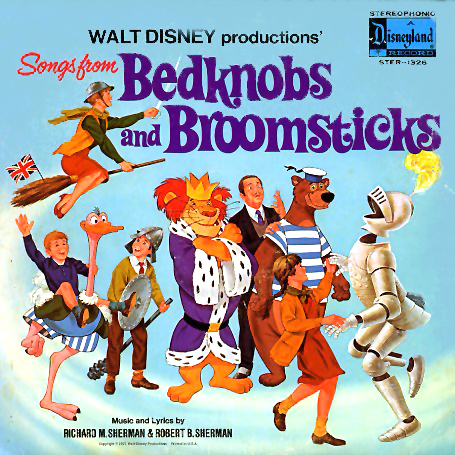 1326 - Bedknobs and Broomsticks on CD