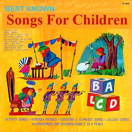 K22 - Best Known Songs For Children on CD