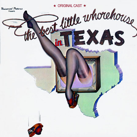 MCA3049 - Best Little Whorehouse In Texas - Broadway Soundtrack on CD