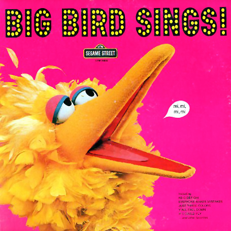 CTW22059 - Big Bird Sings on CD