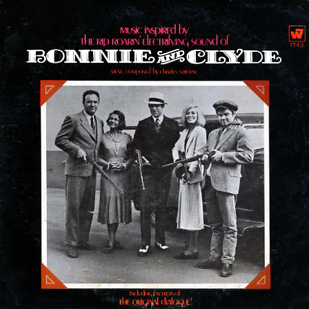 W1742 - Bonnie and Clyde - Motion Picture Soundtrack on CD