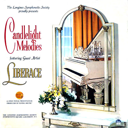 LWS335 - Candlelight Melodies featuring Liberace on CD