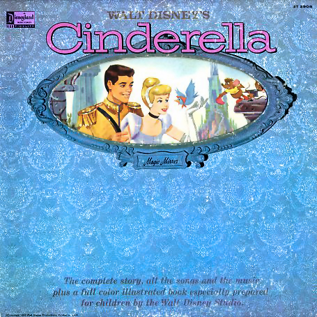 ST3908 - Cinderella Soundtrack Complete Story, Songs, and Music on CD