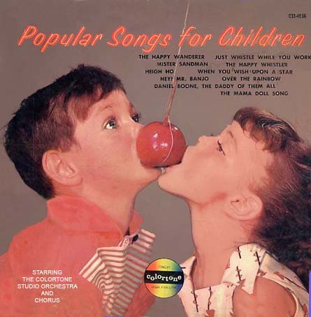 C334936 - Popular Songs For Children on CD