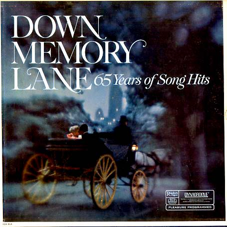 RDA40 - Reader's Digest Down Memory Lane 65 Years of Song Hits on CD
