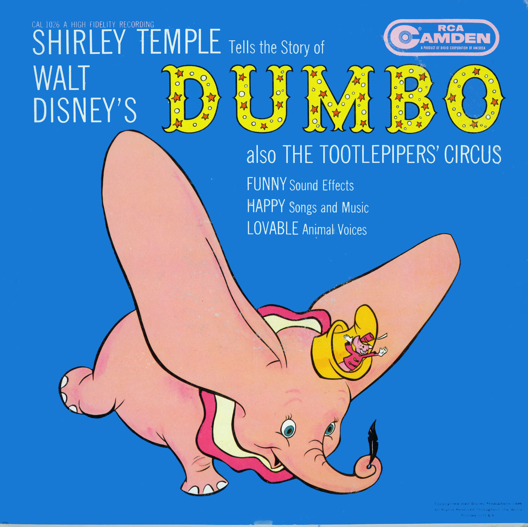CAL1026 - Dumbo on CD